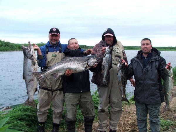 Рыбалка со сплавом